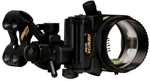 Apex Gear Apex Axim Hunting Sight 6 Pin RH/LH Black 6 Pin - .019'' 54263