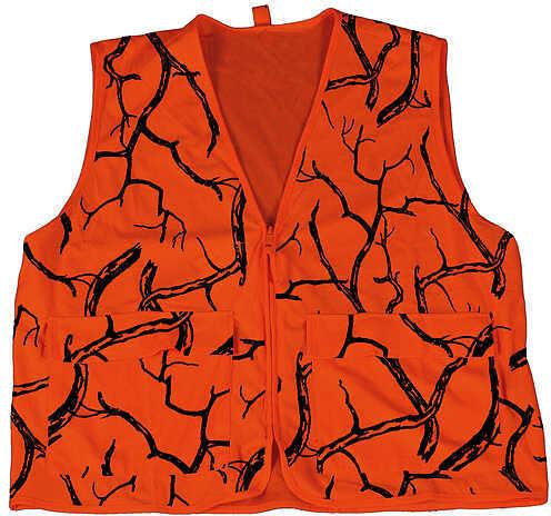 Core Resources Inc. Gamehide Deer Camp Vest Lg Blaze Camo 54321