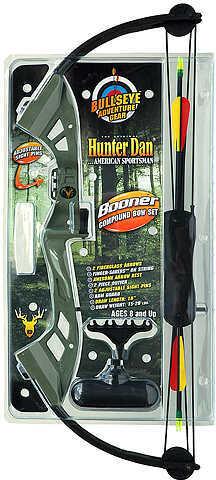 Hunter Dan / Creative Hunter Dan Booner G-Max Compound Bow Set 18'' 15-20# RH Green 54424