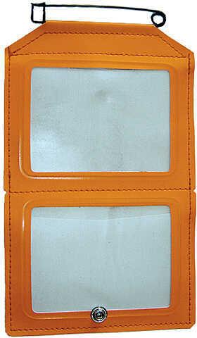 Hme Products HME Dual License Holder Non-Glare Window Orange 54590