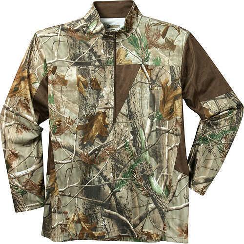 Rocky Boots SilentHunter 1/4 Zip Long Sleeve Shirt Lg AP 55250