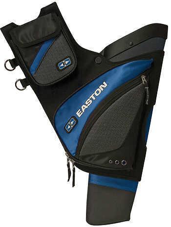 Easton Outdoors Easton Elite QH100 Hip Quiver LH Blue 318824