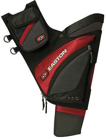 Easton Outdoors Easton Elite QH100 Hip Quiver RH Red 18830