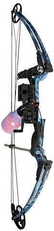 "AMS LLC AMS Fish Hawk Bow Kit 15-30"" 30-40# LH Koi Carp Camo 55716"