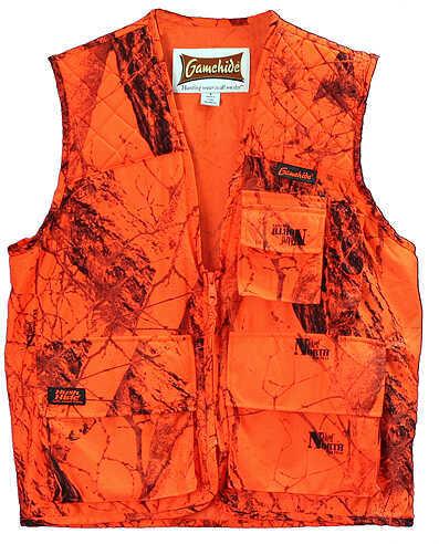 Core Resources Inc. Game Hide Sneaker Big Game Vest Lg Blaze Camo 55874