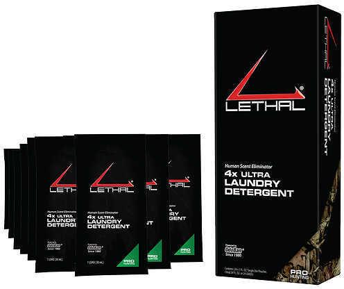 LETHAL PRODUCTION DIVISION Lethal 4X Ultra Laundry Detergent Pouches 1oz. 24/pk 55933
