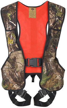 Hunter Safety System s Reversible Harness Lg/XL Realtree/Blaze 55945