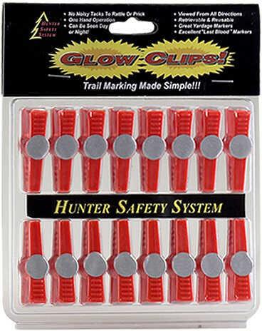 Hunter Safety System s Glow Clips 16/pk. 55955