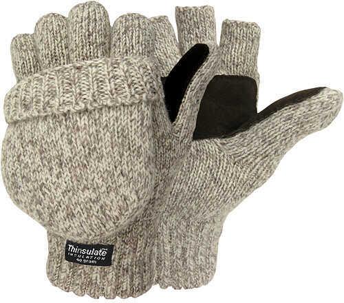 Jacob Ash Company Jacob Ash Hot Shot Ragg Wool Insulated Glove/Mitten One Size Wool/Acrylic 56410