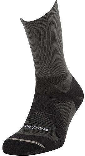 Lorpen North America Inc. LORPEN NORTH AMERICA INC Lorpen Stalker Liner Crew Sock w/STOP Odor Eliminator Lg (10-12.5) 40 Percent Lyocell Charcoal 56560