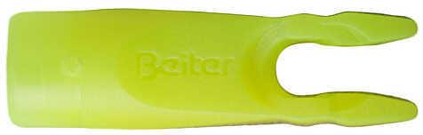 LANCASTER ARCHERY SUPPLY Beiter Pin Nock .098 Neon Yellow 12/pk. 1370132