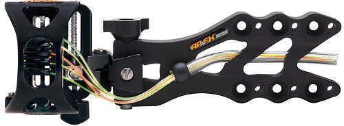 "Apex Gear Apex GameChanger Sight w/Light 5 Pin - .019"" Black 57069"