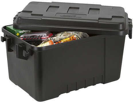 """Plano Medium Storage Tub - 3 pack 26""""x11.25""""x11.25"""" Black 3/pk. 57121"""