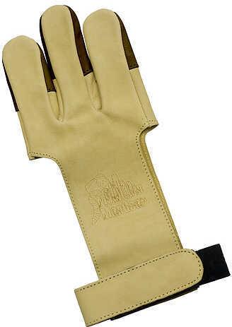 OCTOBER MOUNTAIN PRODUCTS Mountain Man Leather Shooting Glove - Tan Medium Tan 57361