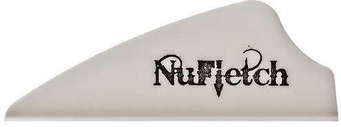 "NUFLETCH ARCHERY LLC NuFletch Fusion Vanes 1.7"" White 36/pk. 57530"