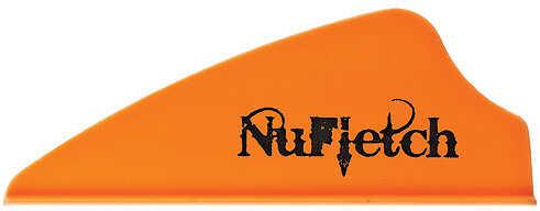 "NUFLETCH ARCHERY LLC NuFletch Fusion Vanes 1.7"" Orange 36/pk 57531"