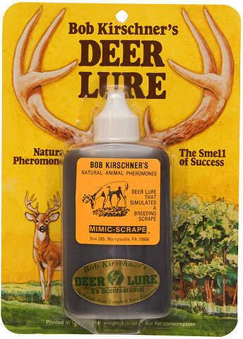 B. Kirschner Deer Lure B KIRSCHNER DEER LURE Kirschner's Mimic Scrape Type Deer Lure 3oz. 57590