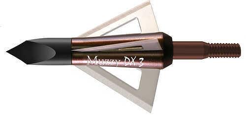 "Muzzy Archery Muzzy DX-3 Deep 6 Broadhead 1 1/4"" BH 100gr. 3/pk 57651"