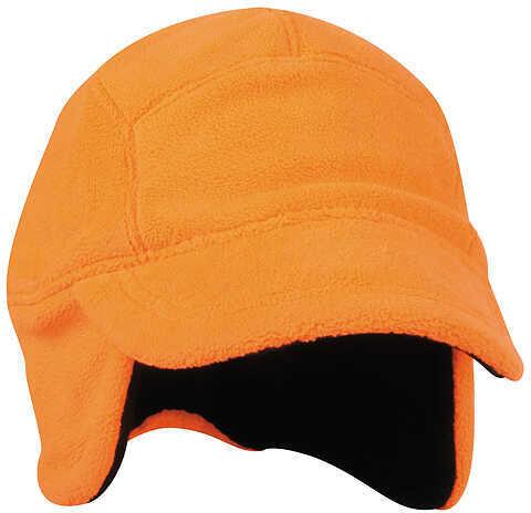 Outdoor Cap Fleece Cap w/Earflaps One Size Blaze 57674