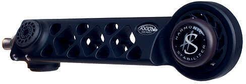 """AXION ARCHERY Axion GLT Gridlock Triad Lite Stabilizer 6"""" 1 Damper 4.8oz Black 57979"""