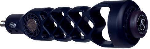 "AXION ARCHERY Axion GLM Gridlock Matrix Lite Stabilizer 6"" 1 Damper 6.0oz Black 57985"