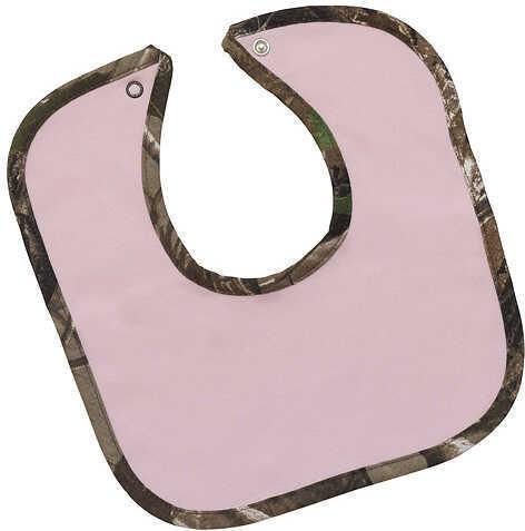 Bonnie's Sportswear Pink Bib w/Snap Camo Trim Pink/APG 58212