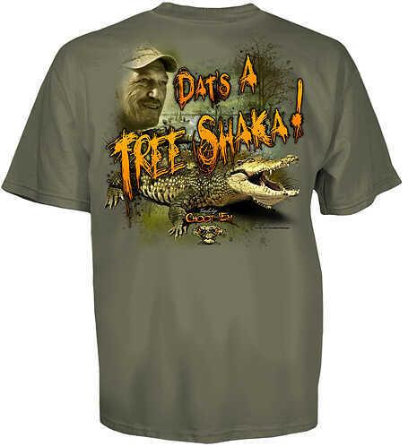 CLUB RED Tree Shaka T-Shirt Md Dust 58433