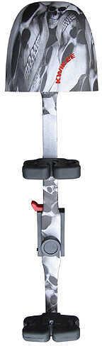 Kwikee Kwiver Kwikee Kwik-3-SS 3-Arrow Solid Stem Quiver 3 Arrow Skulz 58566