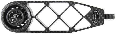 """KTECH DESIGNS LLC Ktech Tech 5 Gridlock Stabilizer 5.6"""" 6.4oz. Carbon 60623"""