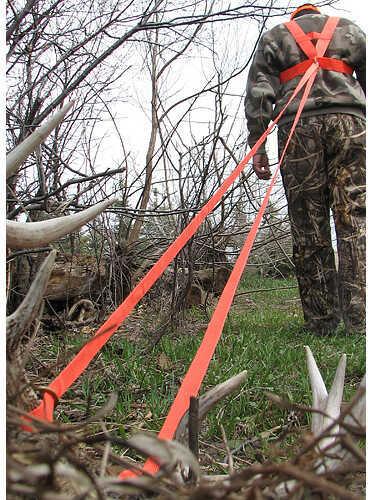 HEAVY HAULER OUTDOOR GEAR Heavy Hauler Deer Drag Harness Orange 65