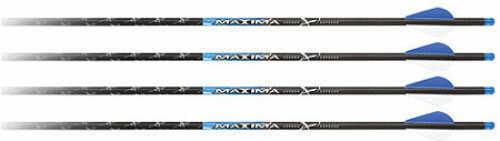 """Carbon Express / Eastman Maxima Blue Streak Crossbolt Moon Nock 20"""" Factory R2 Vanes 36/pk. 52134"""