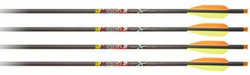 """Carbon Express / Eastman Mayhem Crossbolt Flat/moon Nock 20"""" Factory 3"""" Vanes 6/pk. 52132"""