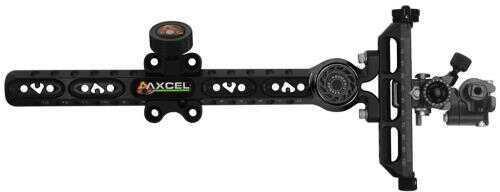 Axcel Achieve Xl Target Sight W/damper Black 9 In. Left Hand Model: Achv-cxl-9dl-bb