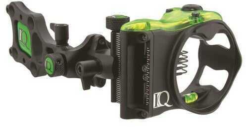 IQ Bowsight Iq Pro Sight Black 5 Pin .019 Right Hand Model: 00336