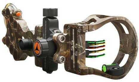 Apex Gear Apex Attitude Micro Sight Realtree Xtra 5 Pin .019 Rh/lh Model: Ag4815j