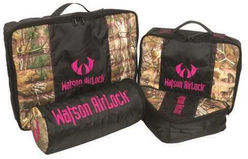 Watson Airlock Geo-Pak 4 Pc. Set Pink/Realtree Xtra