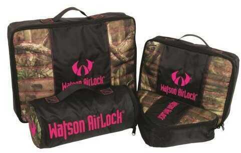 Watson Airlock Geo-Pak 4 Pc. Set Pink/Mossy Oak