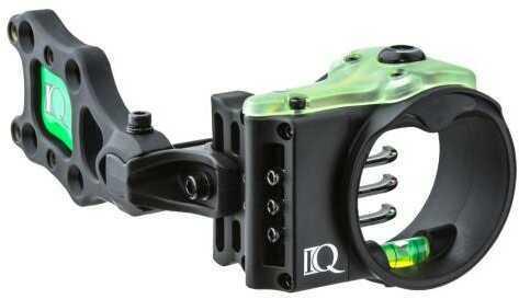 IQ Bowsight Iq Ultra Lite Sight Black 3 Pin .019 Left Hand Model: 00343
