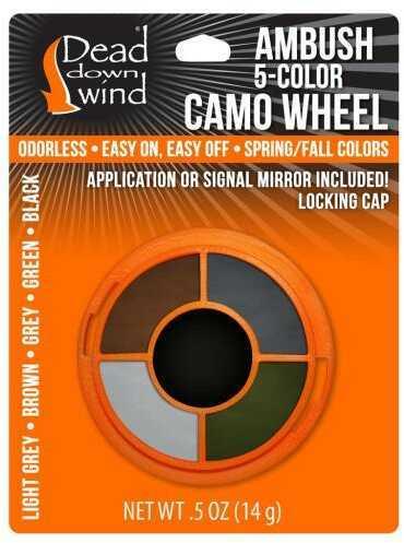 Dead Down Wind FacePaint Wheel 5 Color Model: 1201