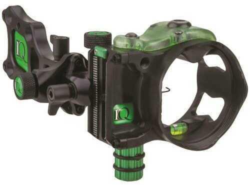 IQ Bowsight Iq Proone Sight Black 1 Pin .019 Right Hand Model: 00348