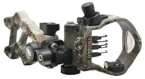 Truglo Rival Hunter 5 Sight Apx 5 Pin Right Hand/left Hand Model: Tg5605j