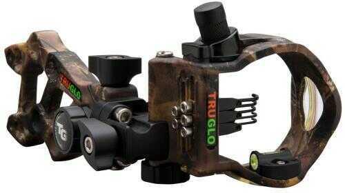 Truglo Rival Hunter 5 Sight Lost 5 Pin Right Hand/left Hand Model: Tg5605l