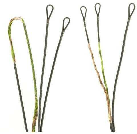 First String Firststring Premium String Kit Green/brown Hoyt Spyder30 2cam Model: 5228-02-0300142