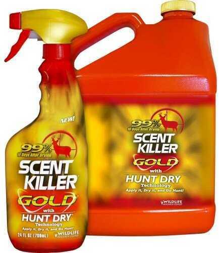 Wildlife Research Scent Killer Gold Gallon Combo Model: 1268