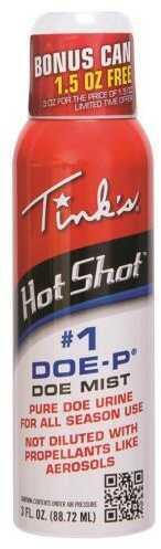 Tinks Hot Shot 1 Doe-P Mist Non Estrous Mist 3 oz. Model: W5312