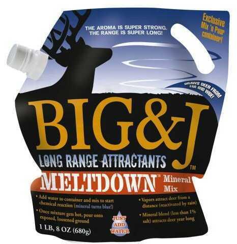 Big & J Attractants Big and J BB2 Meltdown Mineral 1 lb. 8 oz. Model: BB2MD12