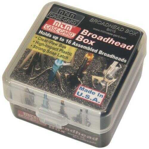 MTM Broadhead Box Clear Model: BH16