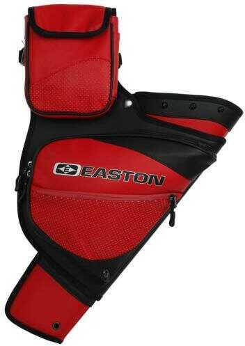 Easton Outdoors Easton Elite Hip Quiver Red Lh Model: 526069