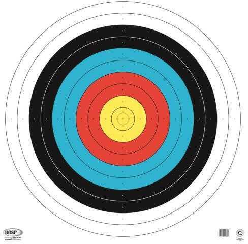 Maple Leaf Press Inc. Maple Leaf NASP Target 80 cm. 25 pk. Tag Weight Model: NASP TA-80