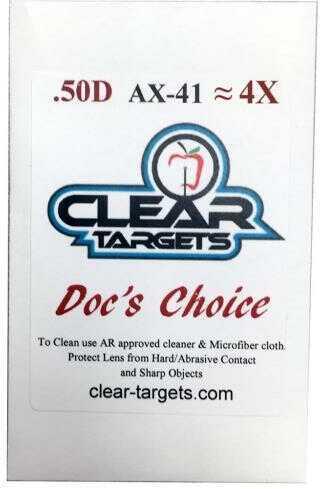 Axcel Docs Choice Lens X-41 4x Model: Ax41-ctdc-4x